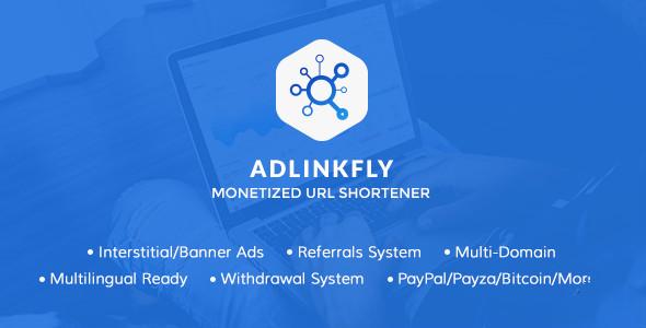 AdLinkFly v6.4.0 – PHP短网址破解商业版+免费分享