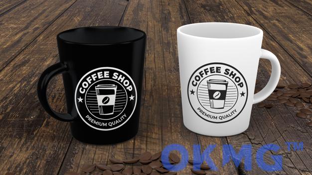 咖啡杯样机免费Psd