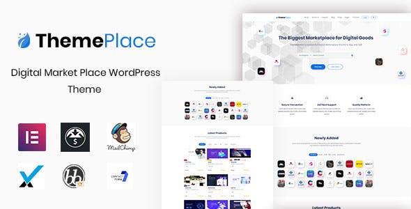 ThemePlace – Wrdpress数字市场主题