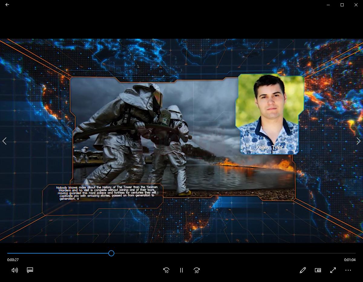 科技感地图背景图片介绍片头