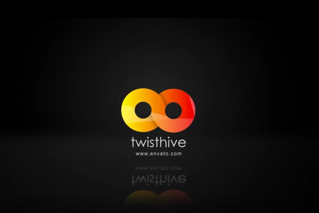 简单扭曲翻转Logo动画