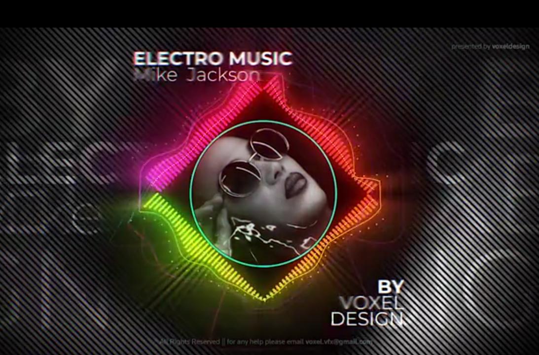 DJ电音频谱
