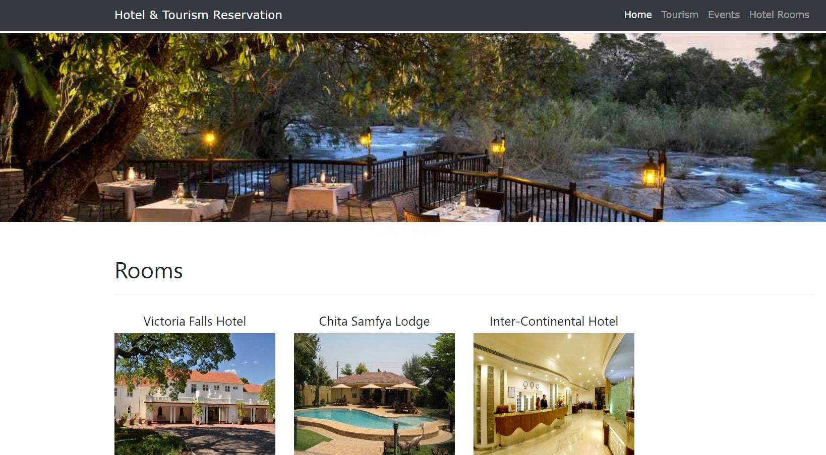 HOTEL AND TOURISM RESERVATION IN PHP WITH SOURCE CODE